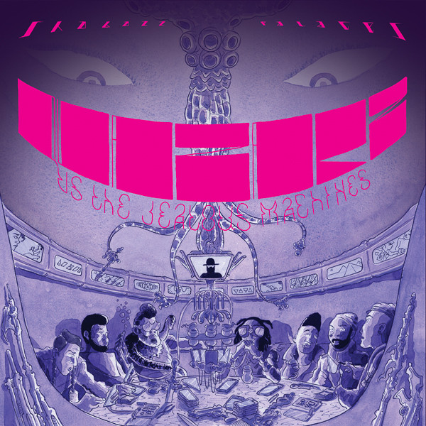 Shabazz Palaces - Quazarz vs. The Jealous Machines (LP, Album)