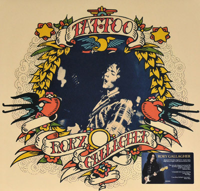 Rory Gallagher - Tattoo (LP, Album, RE, RM, 180)