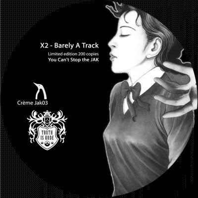 "X2 - Barely A Track (12"", S/Sided, Ltd)"