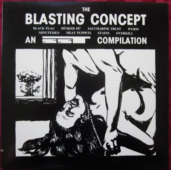 Various - The Blasting Concept (LP, Comp, RE)