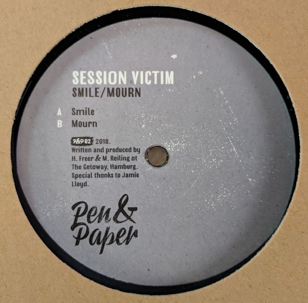 "Session Victim - Smile / Mourn (12"")"