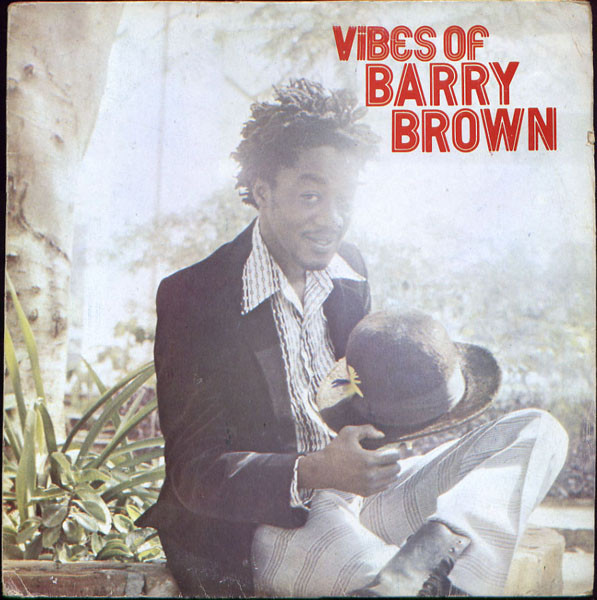 Barry Brown - Vibes Of Barry Brown (LP, Album, RE)