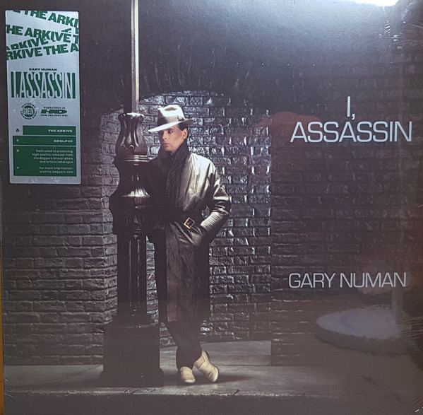 Gary Numan - I, Assassin (LP, Album, RE, RM, Gre)