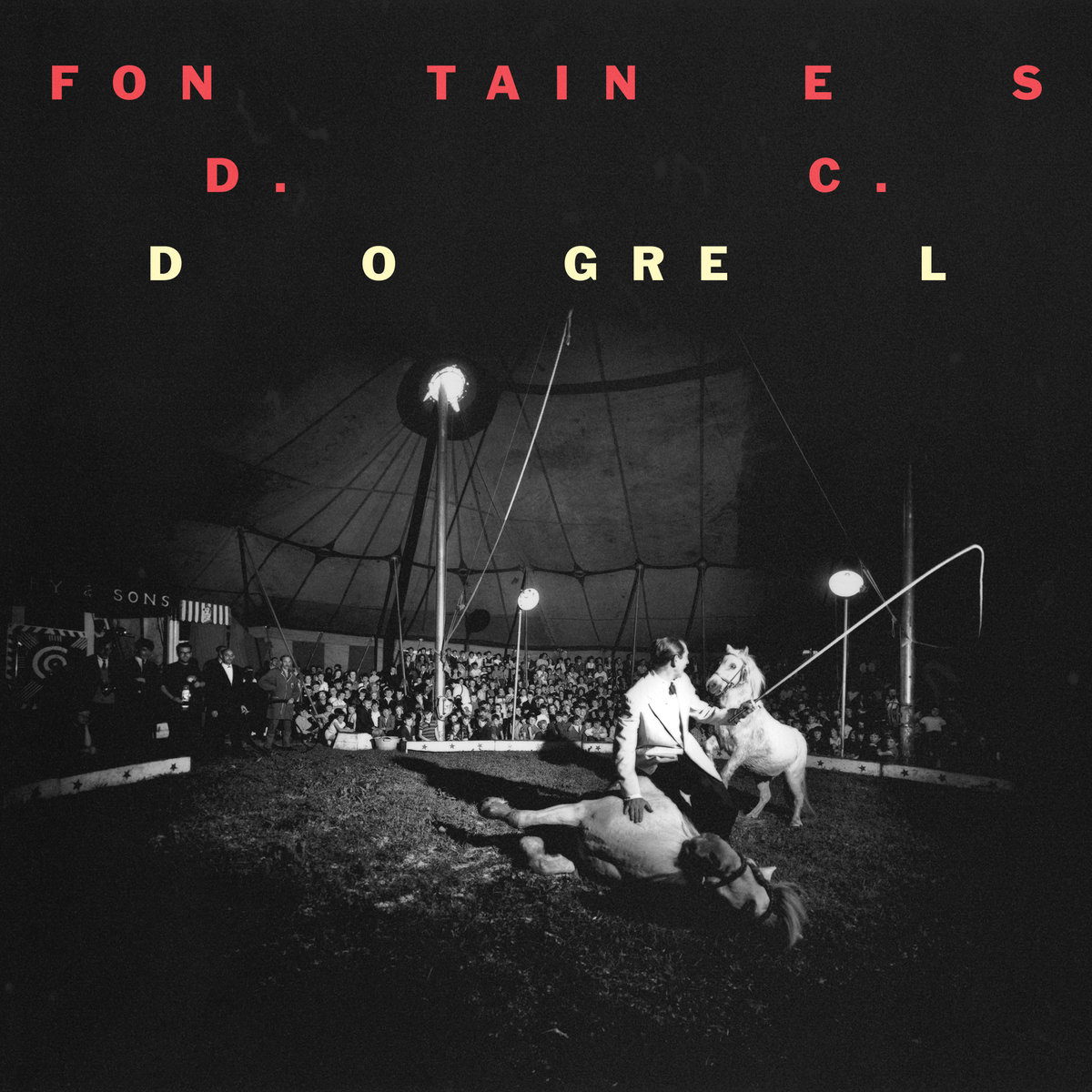( PREORDER 12th April) FONTAINES D.C. - Dogrel - Lp (Limited Edition, Yellow Vinyl)