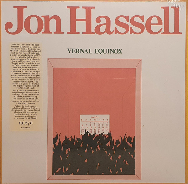 Jon Hassell - Vernal Equinox (LP, Album, RE)