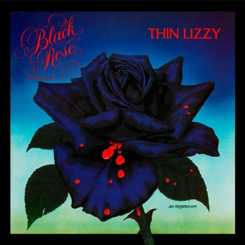 Thin Lizzy - Black Rose (LP, Album, RE)