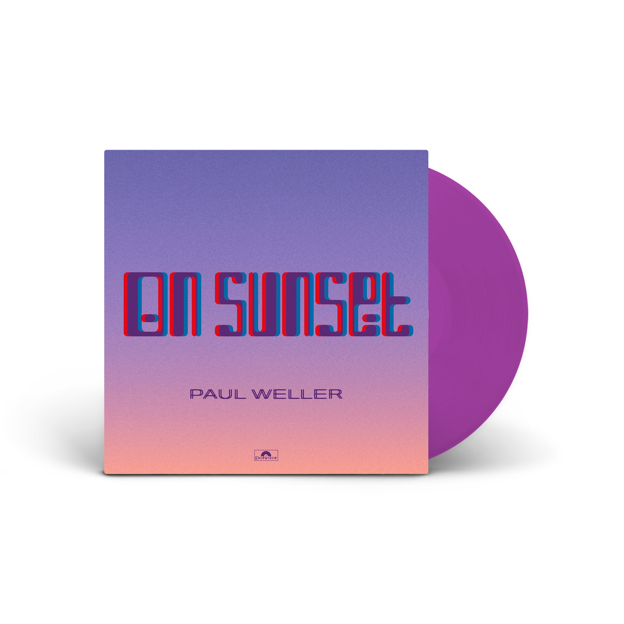 PAUL WELLER – On Sunset – 2LP- Limited Edition Purple Vinyl [JULY 3rd]