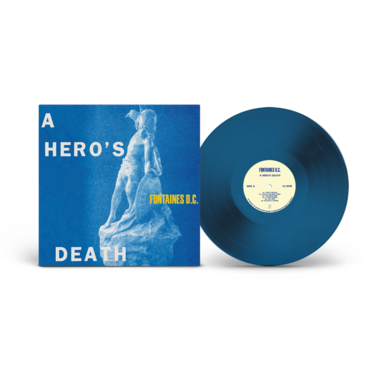 THE FONTAINES D.C. – A Hero's Death – LP – Limited Stormy Blue Vinyl [JULY 31st]