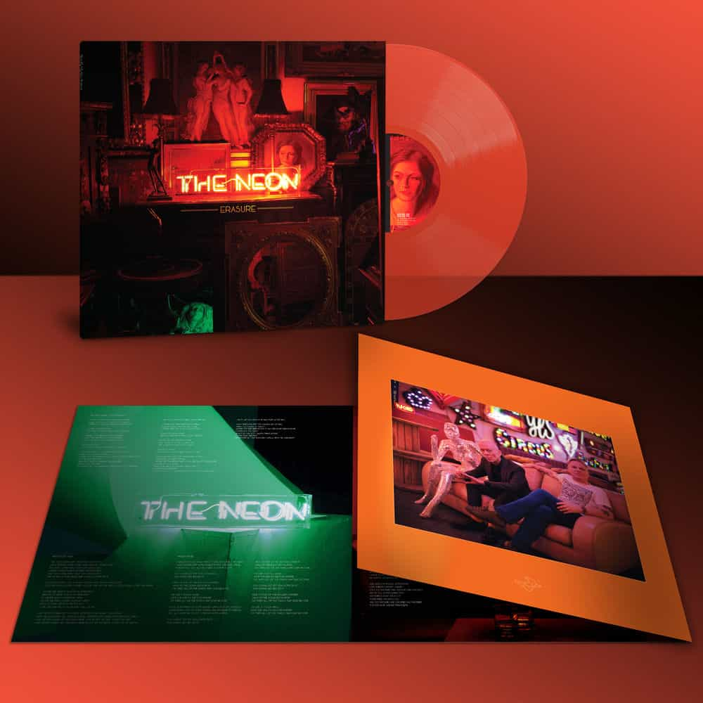 ERASURE – The Neon – LP – Limited Edition Neon Orange Vinyl [AUG 21st]