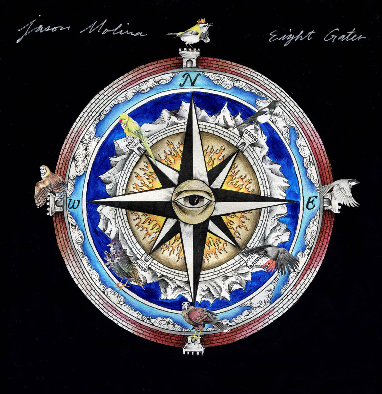JASON MOLINA – Eight Gates – LP -Limited Shortcake Splash Vinyl [AUG 7th]