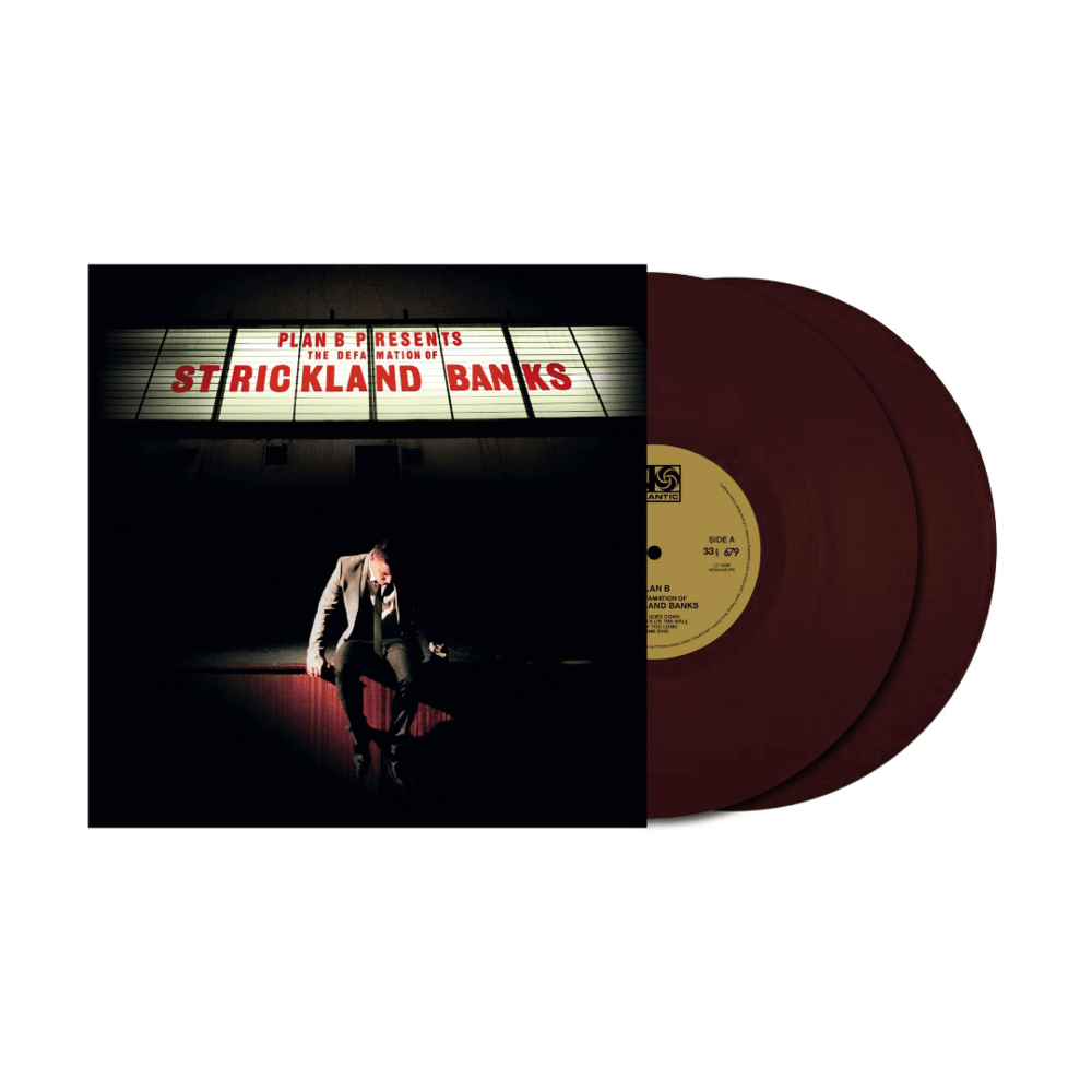 PLAN B – The Defamation Of Strickland Banks (10th Anniversary) – 2LP Limited Oxblood Vinyl [OCT 9th]