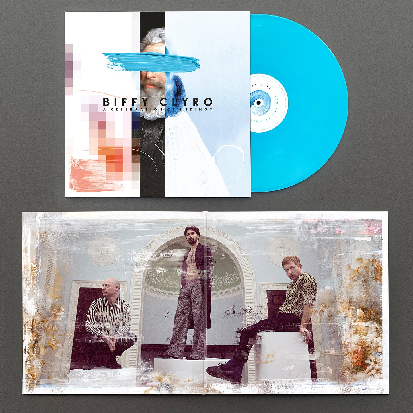 BIFFY CLYRO – A Celebration Of Endings – LP – Limited Blue Vinyl [AUG 14th]