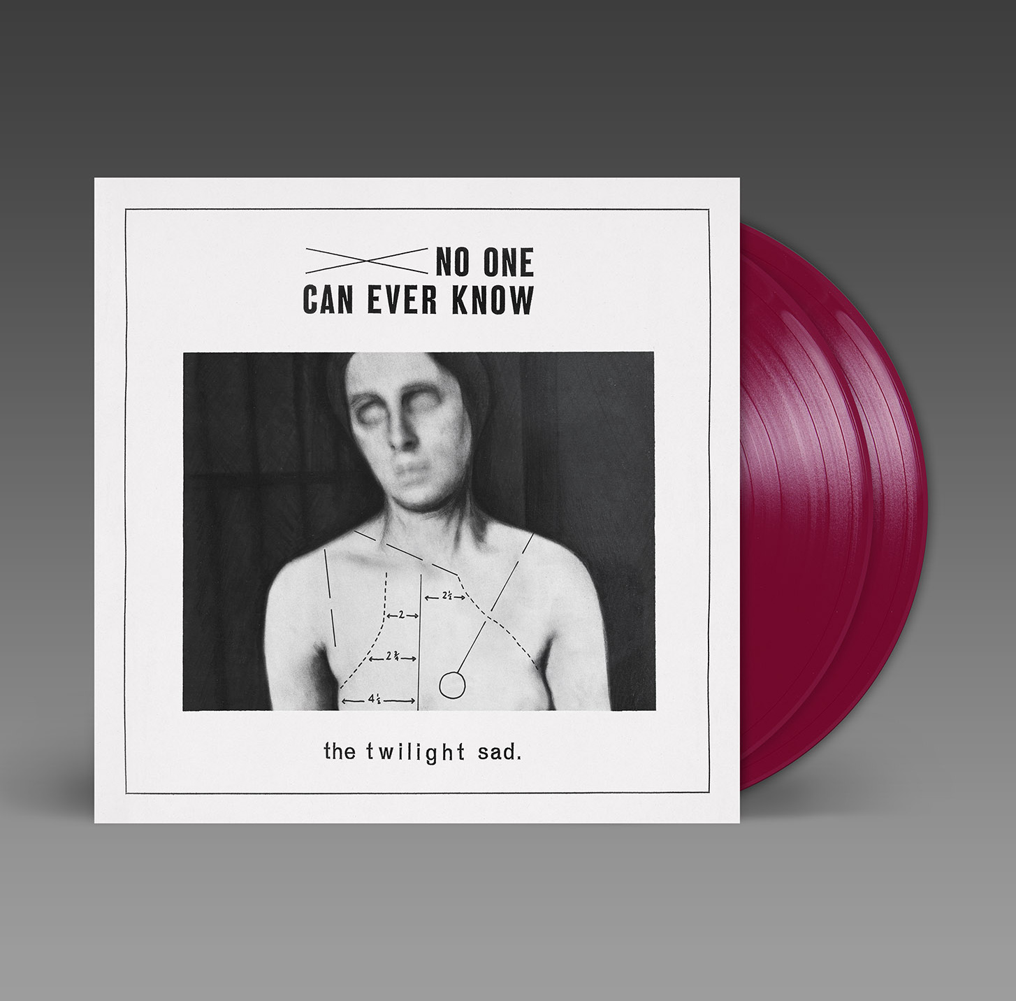 THE TWILIGHT SAD – No One Can Ever Know – 2LP – Limited Burgundy Vinyl [SEPT 4th]