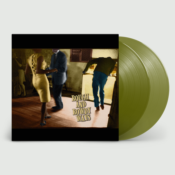 BOB DYLAN- Rough And Rowdy Ways – 2LP -Limited Olive Green Vinyl [JULY 17th]