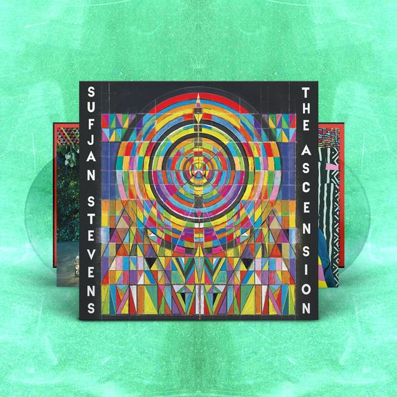 SUFJAN STEVENS – The Ascension – 2LP – Limited Clear Vinyl [SEPT 25th]