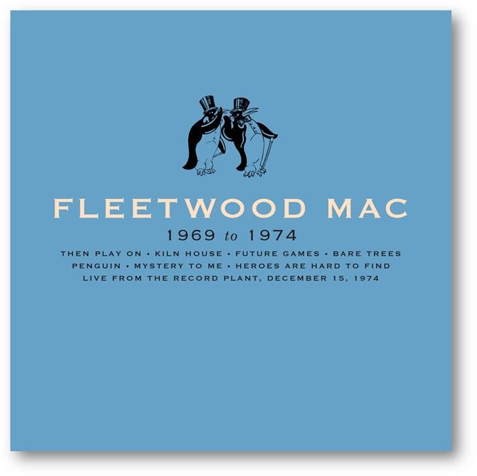 FLEETWOOD MAC – Fleetwood Mac 1969-1974 – 8CD Boxset [SEPT 4th]