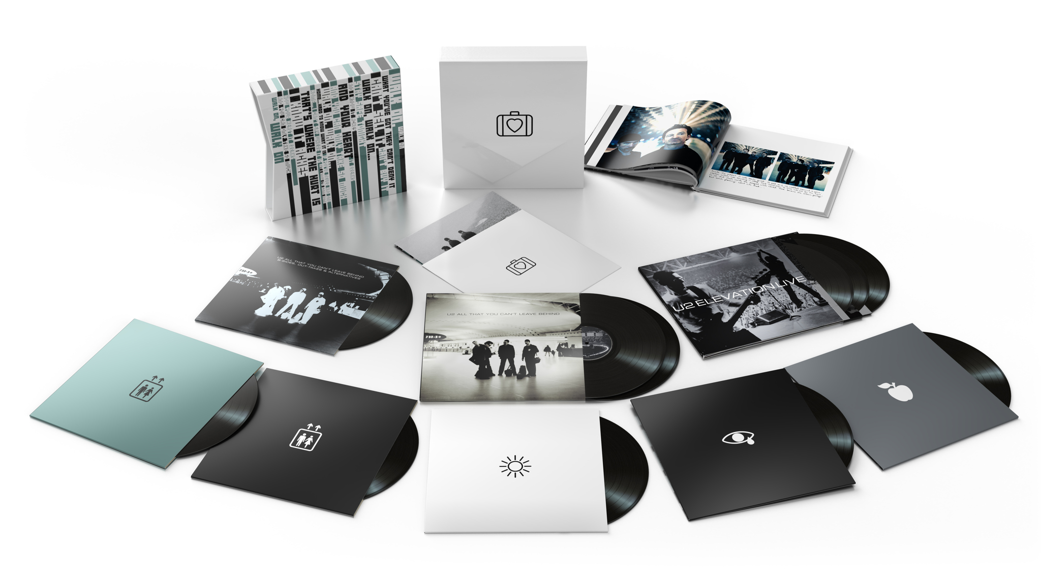 U2 – All That You Can't Leave Behind (20th Anniversary) – 12″X 11 – Super Deluxe Boxset [OCT 30th]