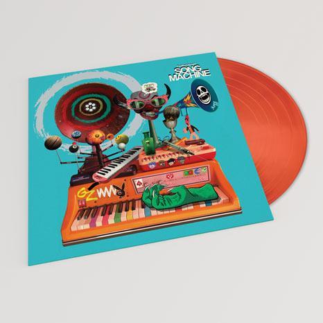 GORILLAZ – Song Machine: Season One Strange Timez – LP – Limited Neon Orange Vinyl [OCT 23]