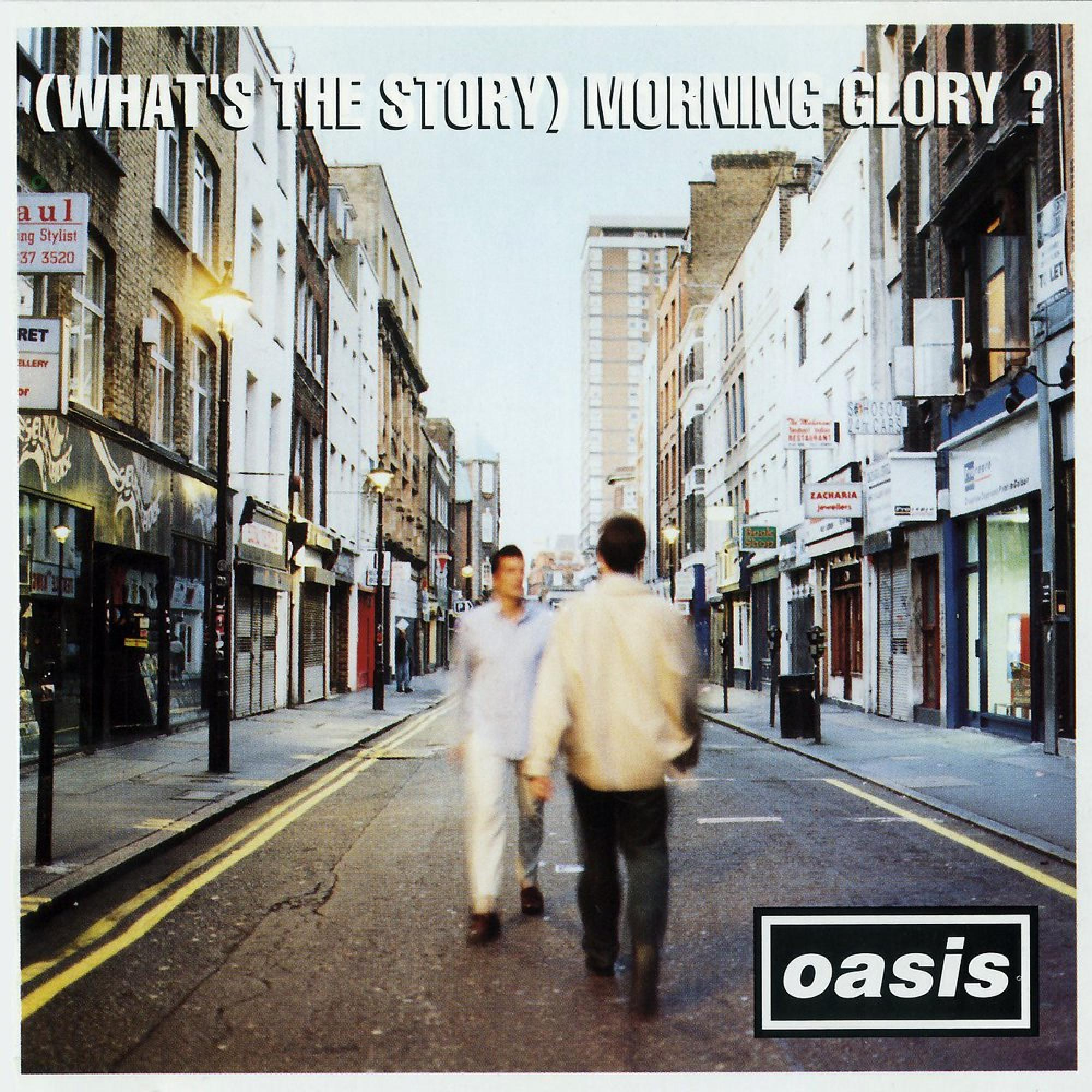 OASIS – (What's The Story) Morning Glory? (25th Anniversary ) – 2LP – Limited Silver Vinyl [OCT 2nd]